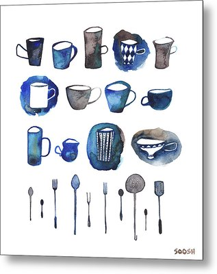 Tablewear Metal Print