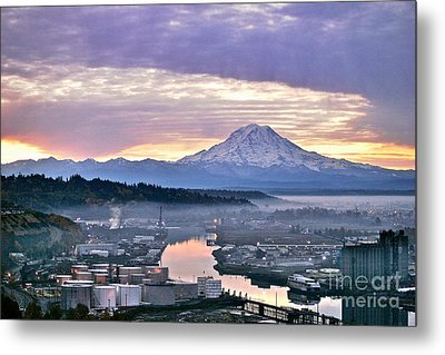 Tacoma Dawn Metal Print