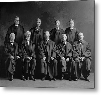 Taft Court. United States Supreme Court Metal Print by Everett