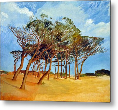 Tahiti Beach -st. Tropez Metal Print by Rainer Jacob