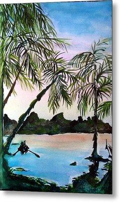 Tahiti Metal Print by Mindy Newman