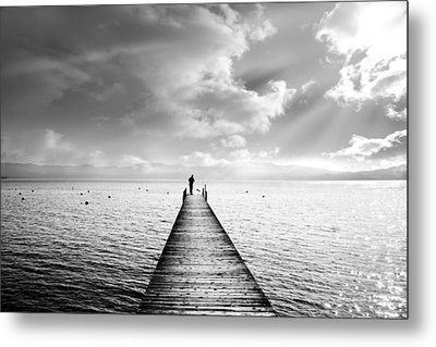 Tahoe Light Metal Print