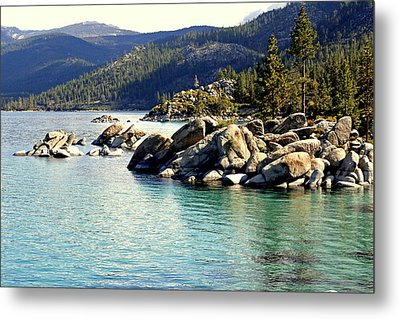 Metal Print featuring the photograph Tahoe Morning by Lynn Bawden