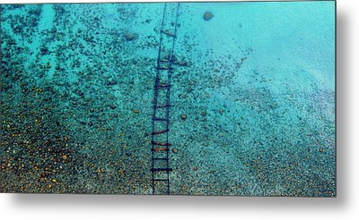 Metal Print featuring the photograph Tahoe Tracks by Brad Scott