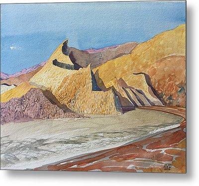 Tahquitz Sunrise Metal Print by Vaughan Davies