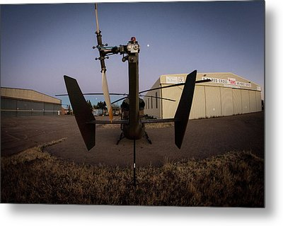 Metal Print featuring the photograph Tailblade by Paul Job