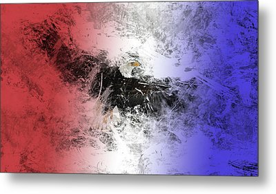 Tainted Eagle Metal Print by Sean Holmquist
