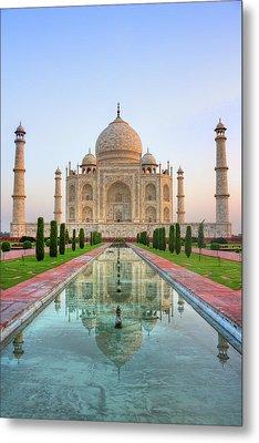 Taj Mahal, Agra Metal Print by Pushp Deep Pandey / 2kPhotography