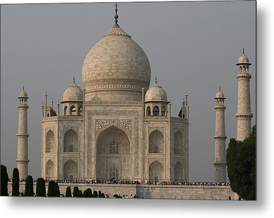 Metal Print featuring the photograph Taj Mahal by Andrei Fried