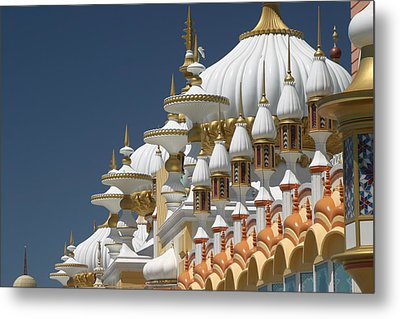 Taj Mahal Metal Print by Living Color Photography Lorraine Lynch