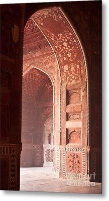 Taj Opening Metal Print by Mike Reid