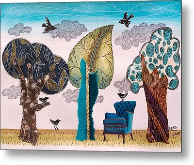 Take A Rest In Spring Metal Print by Graciela Bello