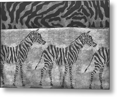 Take A Walk On The Wild Side Metal Print by Anne-Elizabeth Whiteway