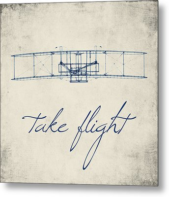 Take Flight Metal Print by Brandi Fitzgerald