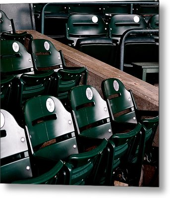 Take Me Out To The Ball Game Metal Print by Michelle Calkins