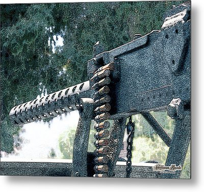 Take The Shot Metal Print by William Havle