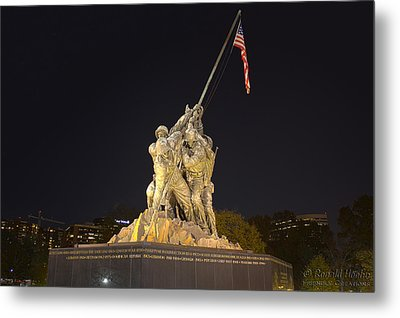 Taking A Stand Metal Print