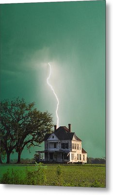 Taking Another Hit Metal Print by Jan Amiss Photography