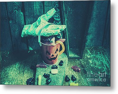 Taking Candy From The Little Monsters Metal Print by Jorgo Photography - Wall Art Gallery