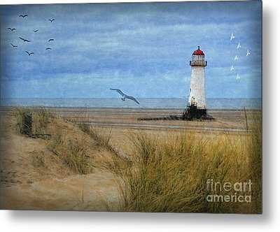 Talacre Lighthouse - Wales Metal Print