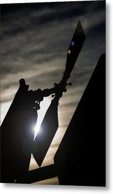 Metal Print featuring the photograph Tale Sun by Paul Job