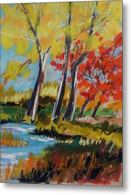 Metal Print featuring the painting Tall And Golden by John Williams