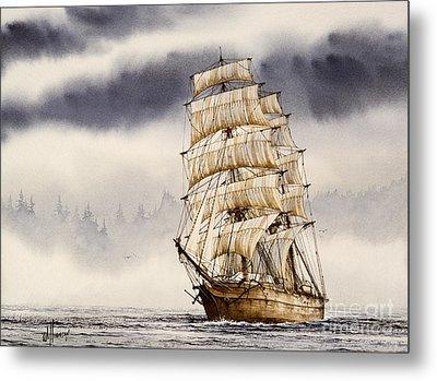 Tall Ship Adventure Metal Print by James Williamson