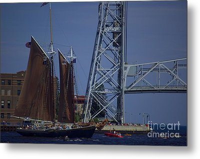 Tall Ships Metal Print by The Stone Age