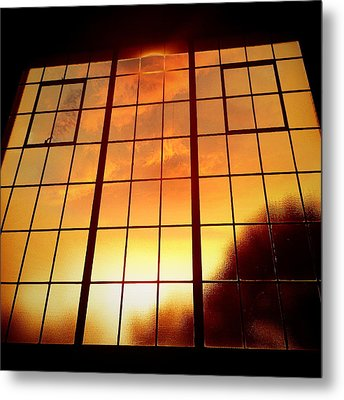 Tall Windows #1 Metal Print by Maxim Tzinman