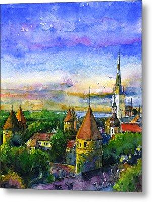 Tallinn Estonia Metal Print