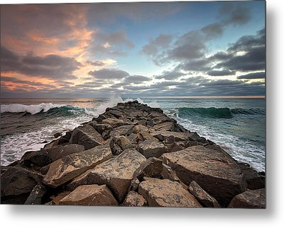 Tamarack Jetty Metal Print