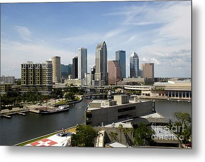 Tampa Florida Landscape Metal Print by David Lee Thompson