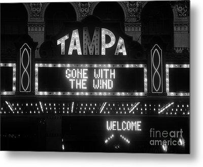 Tampa Theatre 1939 Metal Print by David Lee Thompson