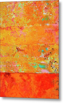 Metal Print featuring the photograph Tangerine Dream by Skip Hunt