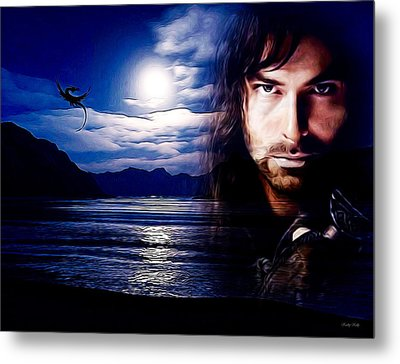 Kili And The Lonely Mountain Metal Print by Kathy Kelly