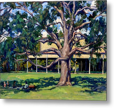 Tanglewood Before The Concert Metal Print by Thor Wickstrom