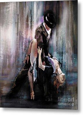 Tango Couple 05 Metal Print