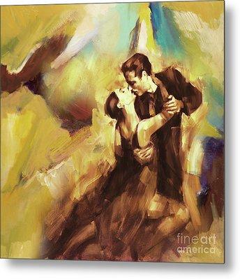 Tango Couple Dance 07 Metal Print by Gull G
