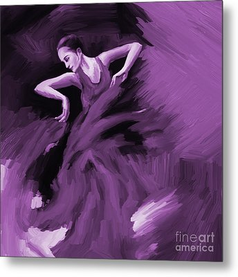 Tango Dancer 01 Metal Print by Gull G