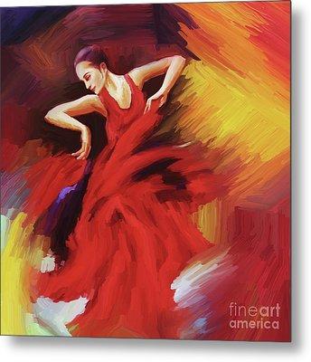 Tango Dancer 02 Metal Print by Gull G