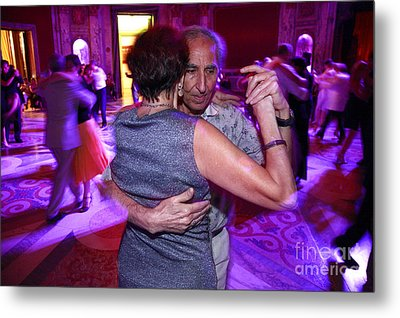 Tango In Buenos Aires Metal Print