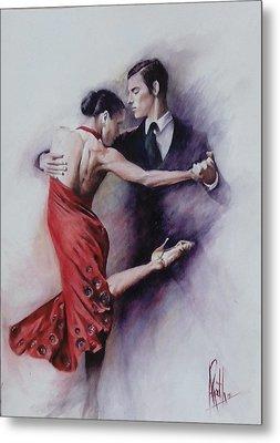 Tango Quartet 4/4 Metal Print by Alan Kirkland-Roath
