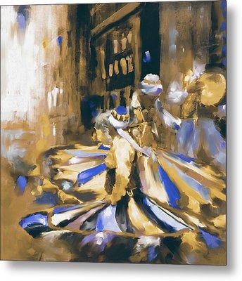 Tanoura Dance 449 II Metal Print by Mawra Tahreem