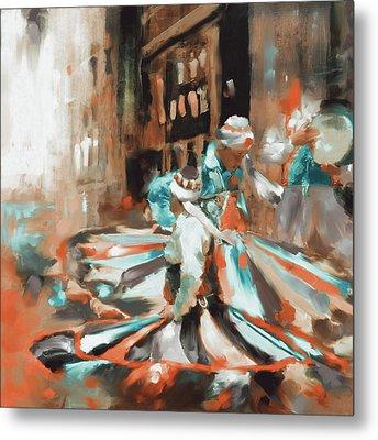Tanoura Dance 449 IIi Metal Print by Mawra Tahreem
