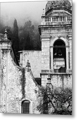 Taormina Church Detail Metal Print
