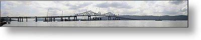Tappan Zee Bridge From Tarrytown Metal Print