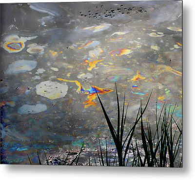 Tar Pit's Beauty I Metal Print