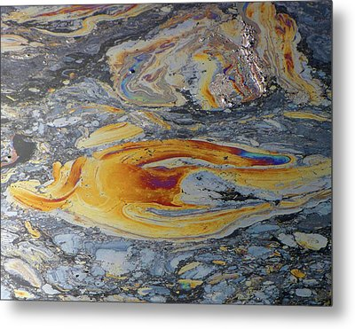 Tar Pit's Beauty II Metal Print