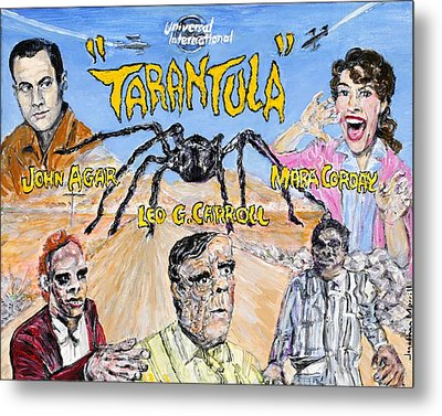 Tarantula - 1955 Lobby Card That Never Was Metal Print