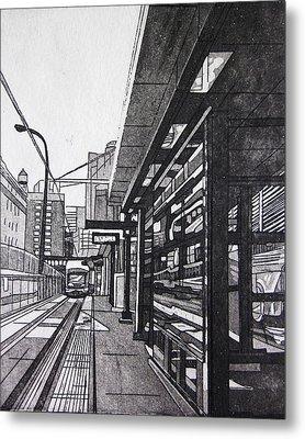 Target Station Metal Print by Jude Labuszewski